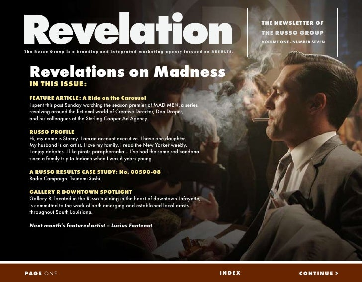 Revelation                                                                                                   THE NEWSLETTE...