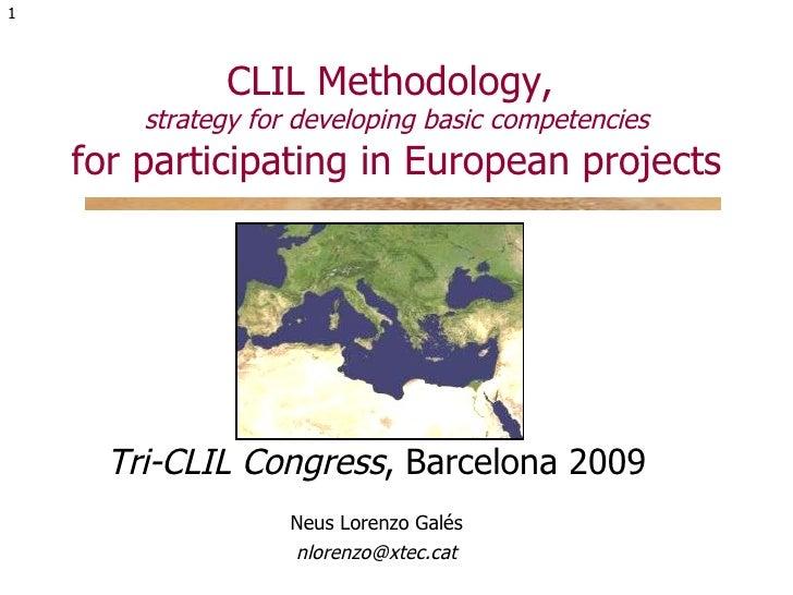 Tri Clil 2009 Bcn