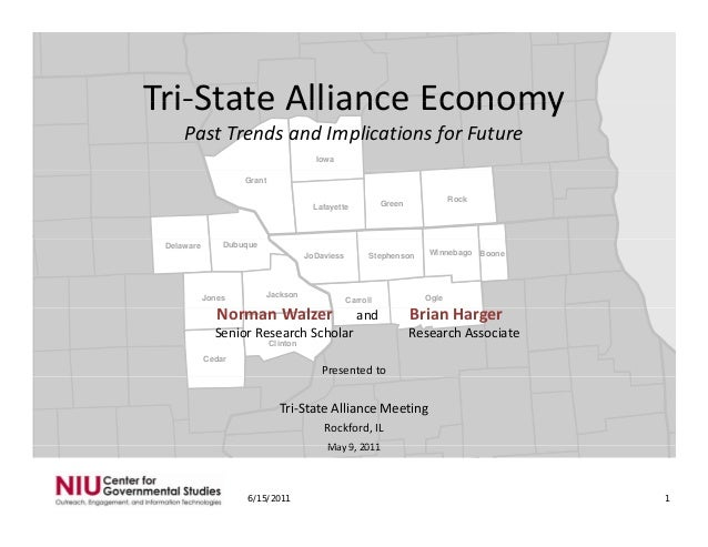 Tri‐State Alliance Economy: Past Trends and Implications for Future