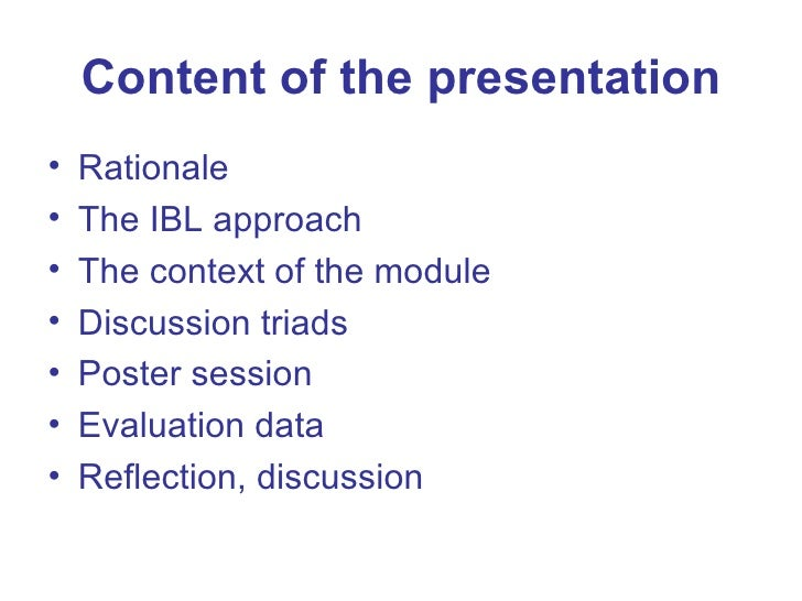 Dissertation learning points
