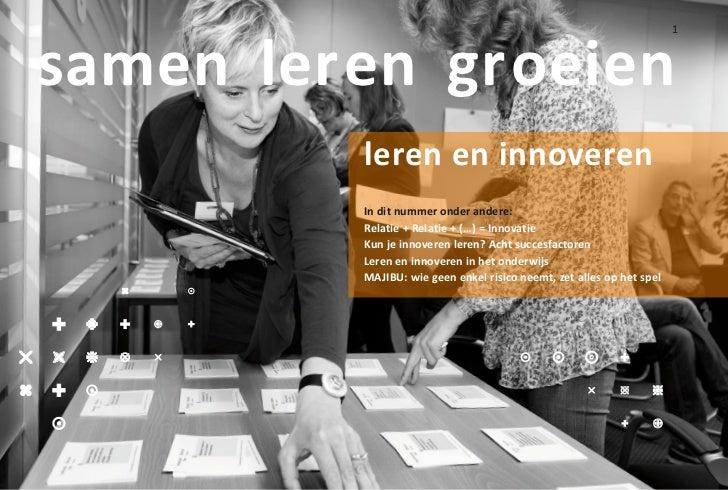 samen leren groeien                                                                      1         leren en innoveren     ...