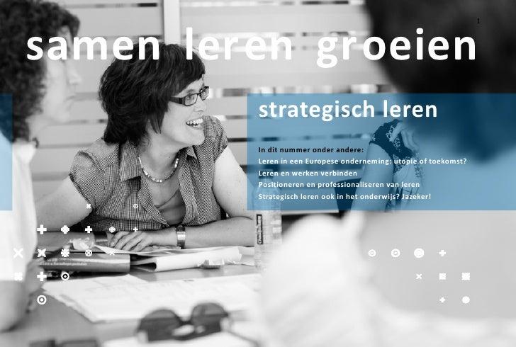 TriamFloat Magazine Strategisch Leren