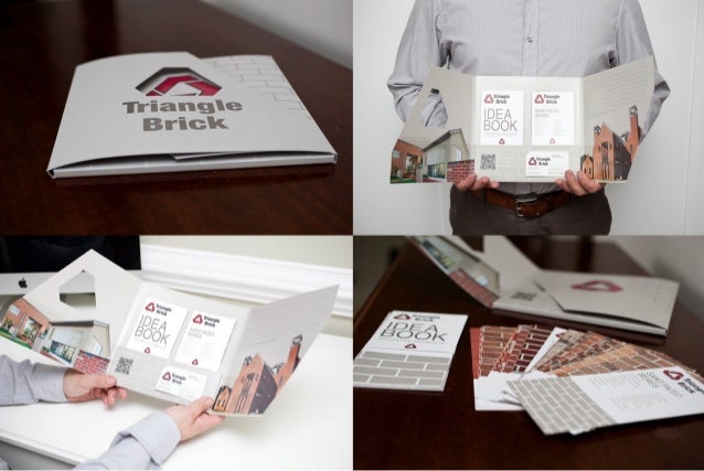 Triangle brick idea book