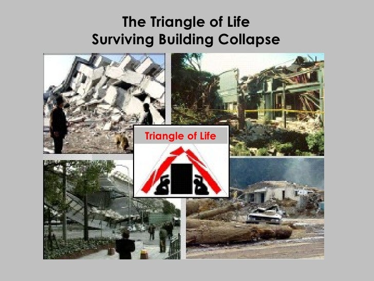 Triangle of Life The Triangle of Life Surviving Building Collapse