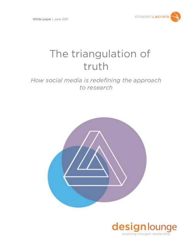 The Triangulation of Truth