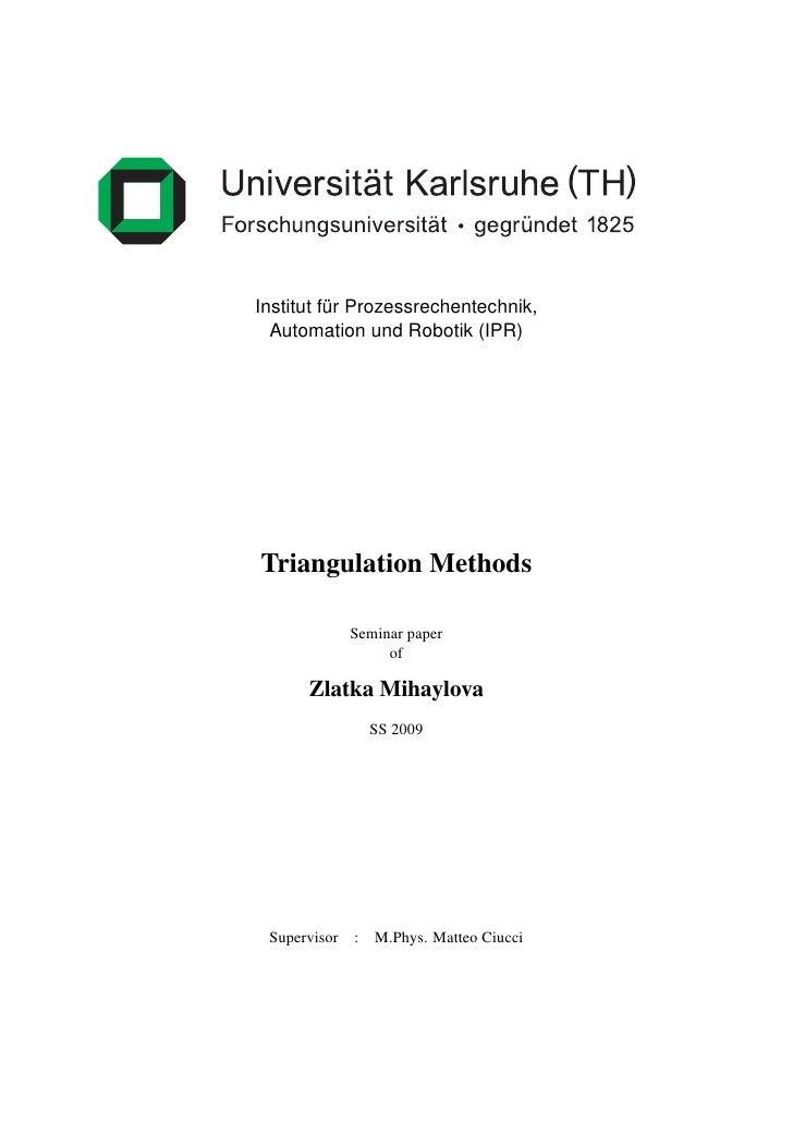Institut                                           Autom   Institut fur Prozessrechentechnik,           ¨   Automation und...