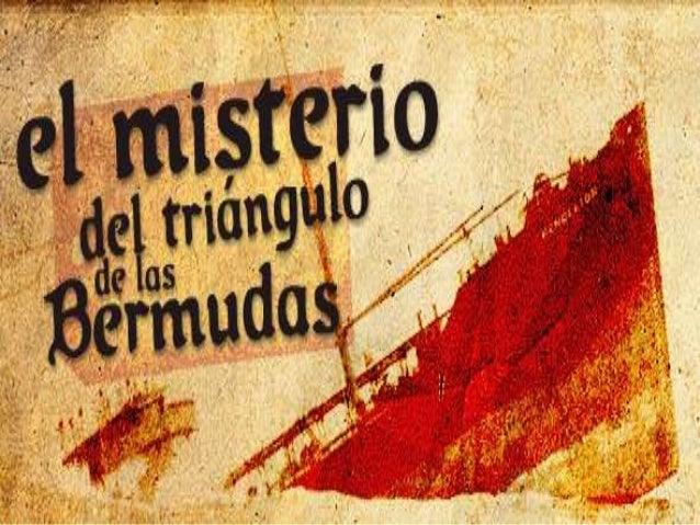 """Un misterio """"El Triangulo de las bermudas.."""""""