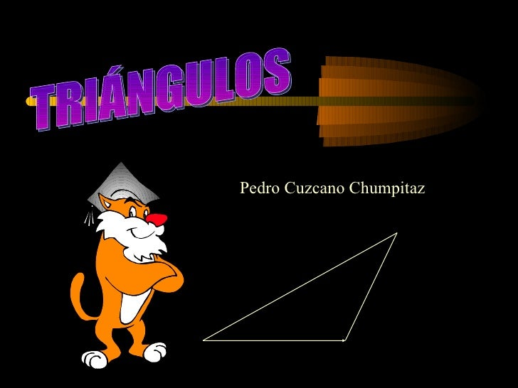 TRIÁNGULOS Pedro Cuzcano Chumpitaz