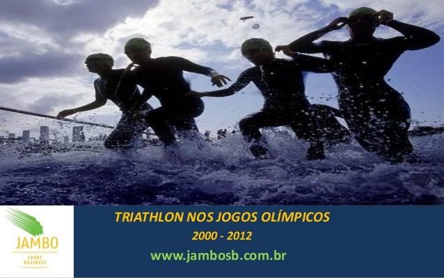 TRIATHLON NOS JOGOS OLÍMPICOS 2000 - 2012 www.jambosb.com.br