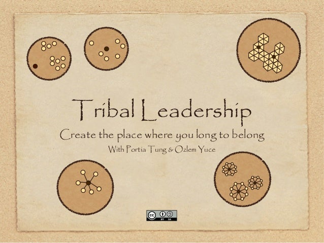 Tribal Leadership Create the place where you long to belong With Portia Tung & Ozlem Yuce