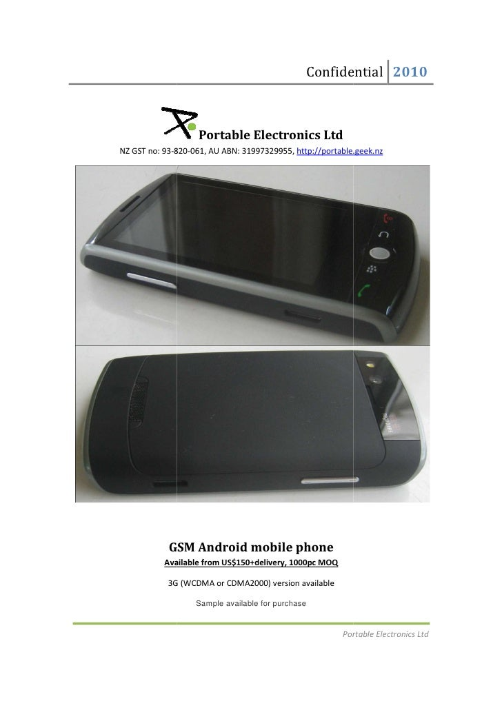 Triband gsm android mobile phone