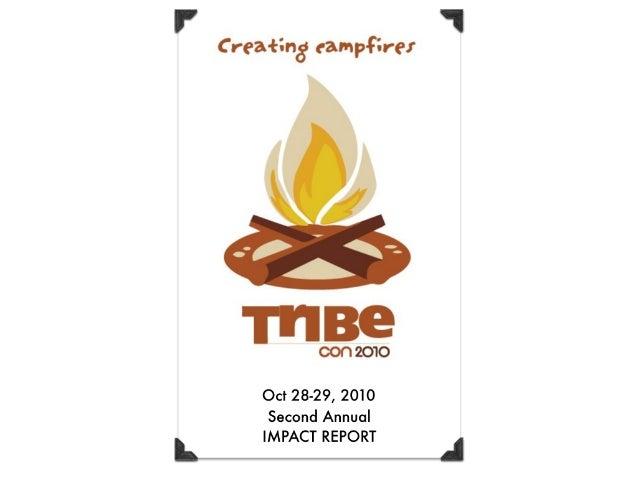 TribeCon 2010 Impact Report