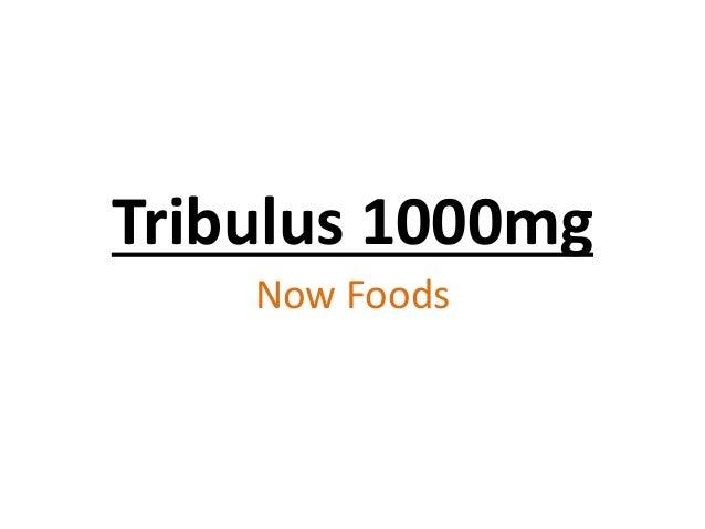 Tribulus 1000mg Now Foods