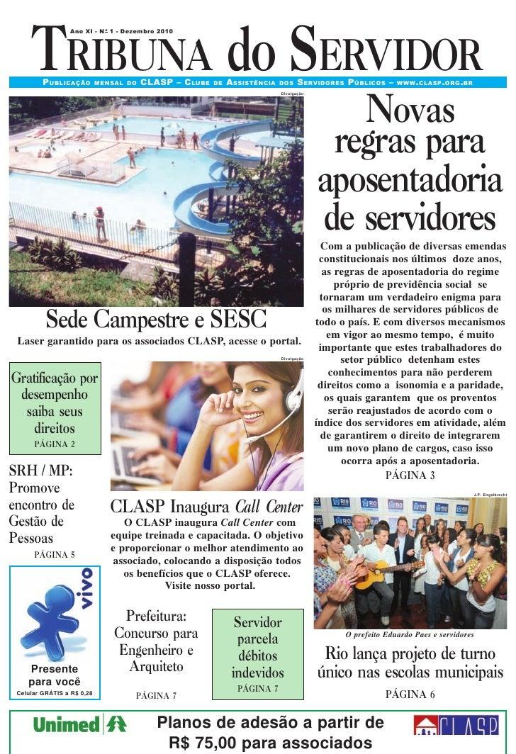 Tribuna do Servidor - Edição Dez/2010