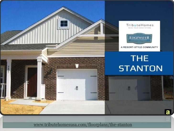Tribute Homes - The Stanton, A Resort Style Community, South Carolina
