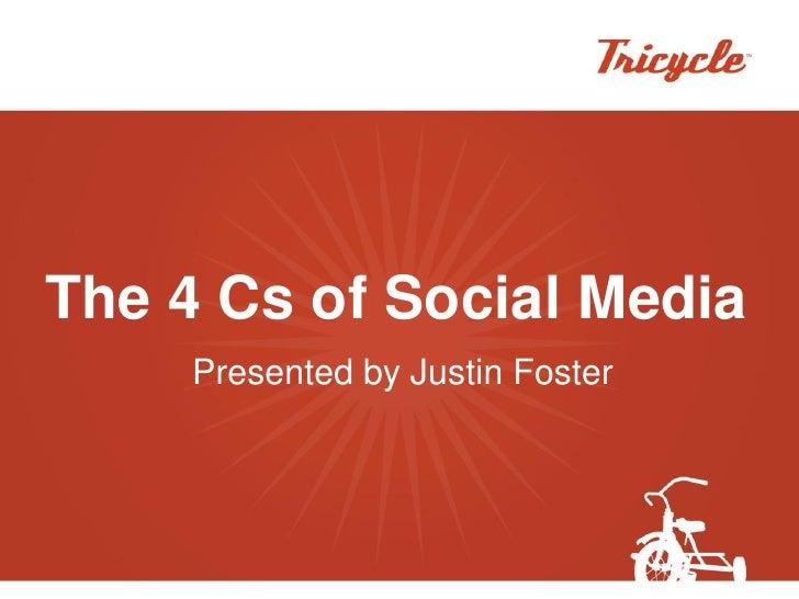 Tricycle   4 Cs Of Social Media