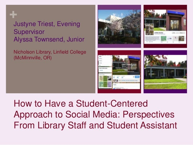 + Justyne Triest, Evening Supervisor Alyssa Townsend, Junior Nicholson Library, Linfield College (McMinnville, OR)  How to...