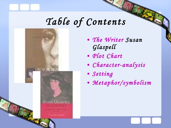 the theme of gender discrimination in susan glaspells trifles