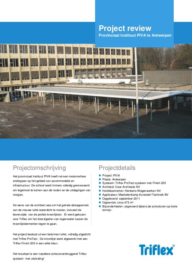 Triflex-projectreview piva