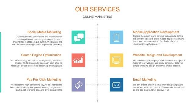 design and implementation of online marketing