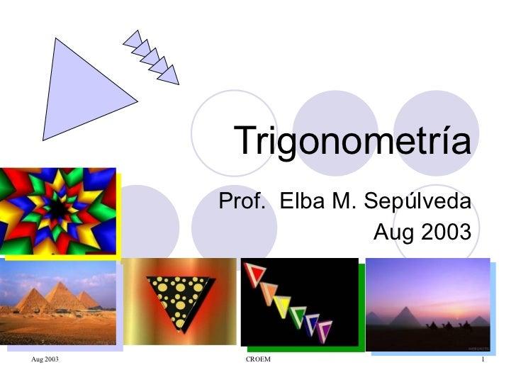 Trigonometría