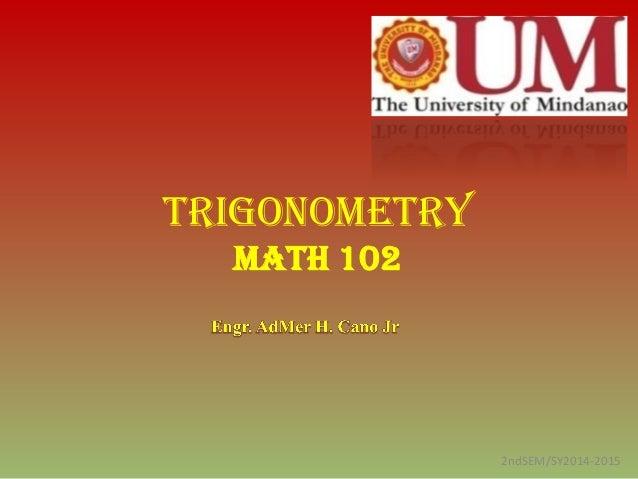 module 5 circular functions trigonometry Extend the domain of trigonometric functions using the unit circle  mathcontent hsftfb5 choose trigonometric functions to model periodic phenomena.