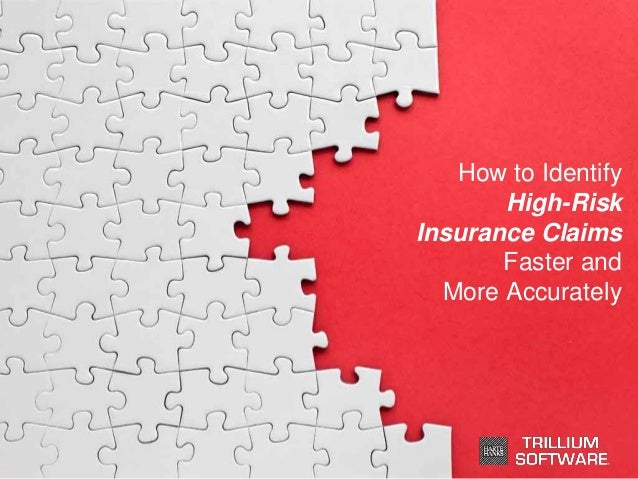 How to Identify High-Risk Insurance Claims Faster and More Accurately