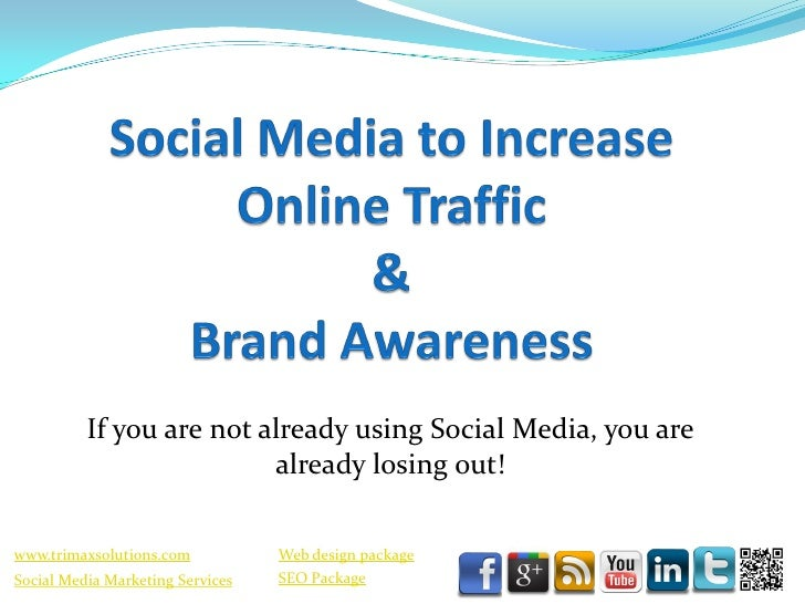 Trimax   social media to increase seo and brand awareness