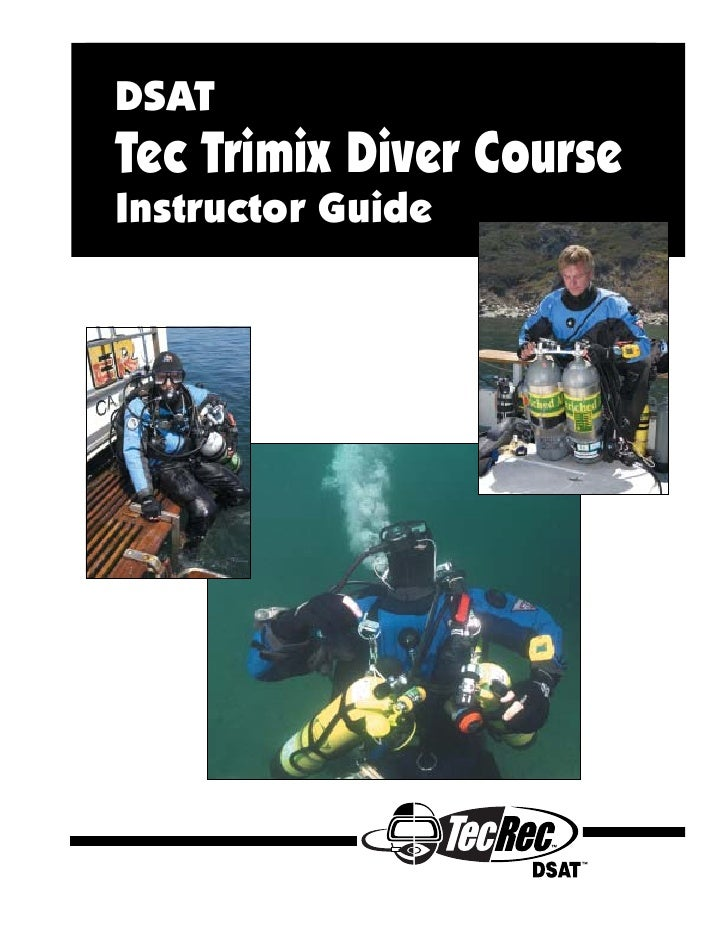 DSATTec Trimix Diver CourseInstructor Guide