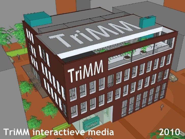 TriMM interactieve media  2010