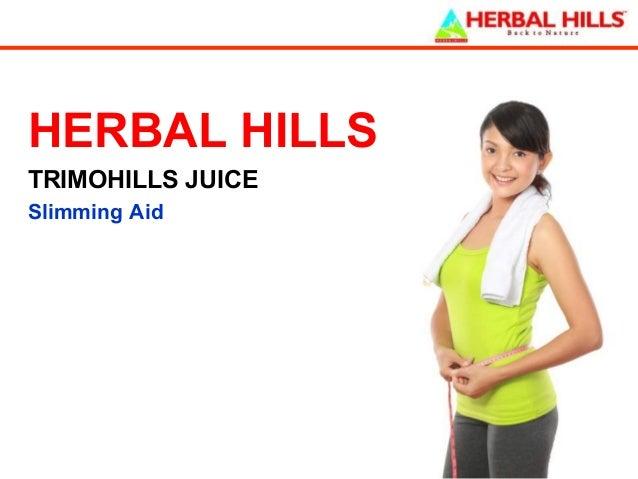 HERBAL HILLS TRIMOHILLS JUICE Slimming Aid