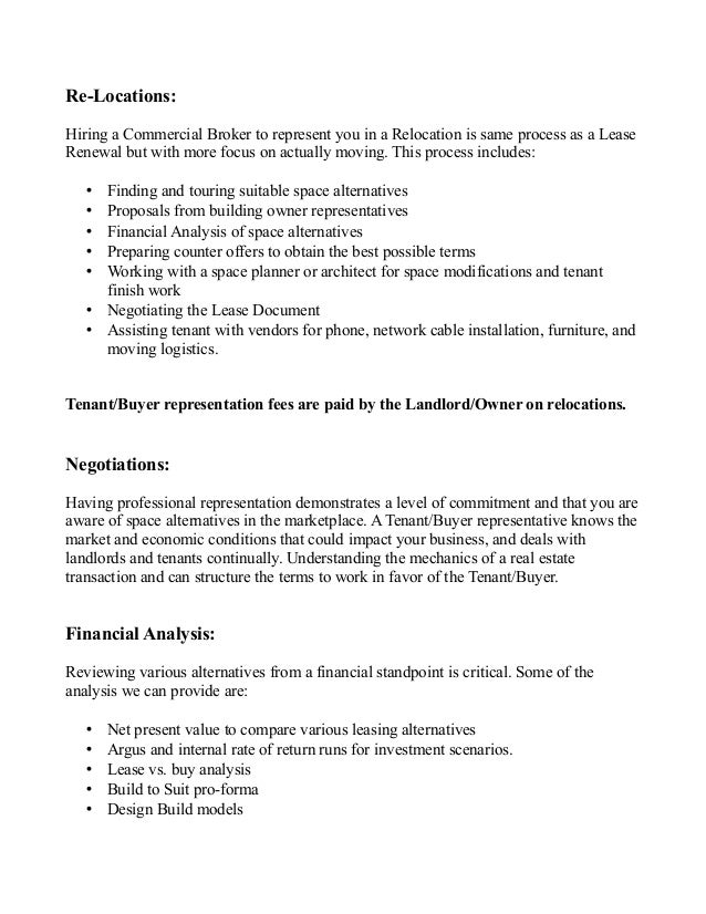 Letter Of Intent Real Estate Lease Commercial. Commercial Real ...