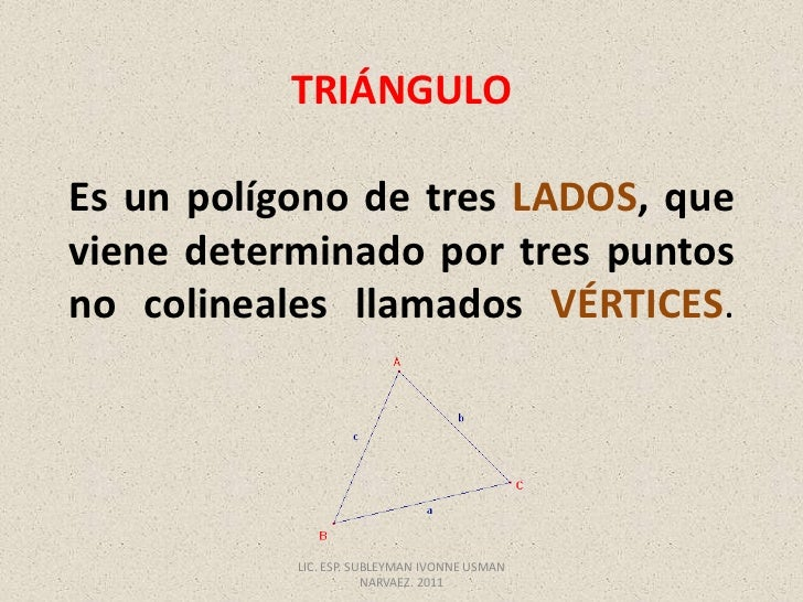 Triángulo..