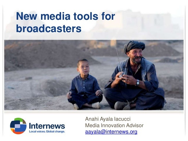 New Media for National Broadcasters