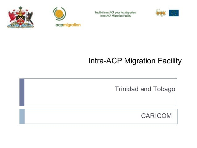 Mainstreaming Migration and Development: National Forum on Migration and Development-Trinidad and Tobago