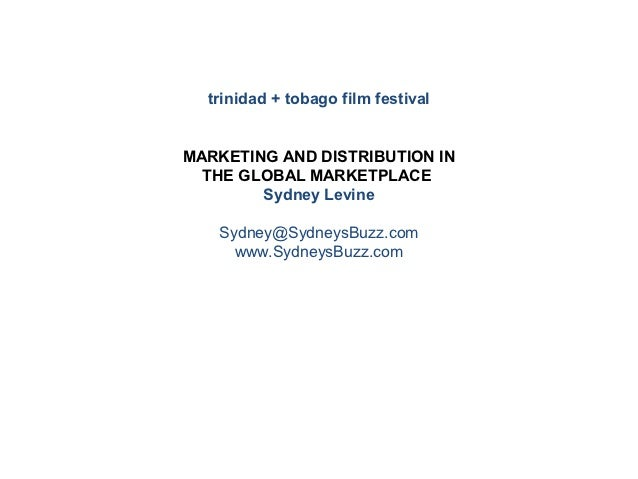 ttff/12 marketing and distribution in the global marketplace
