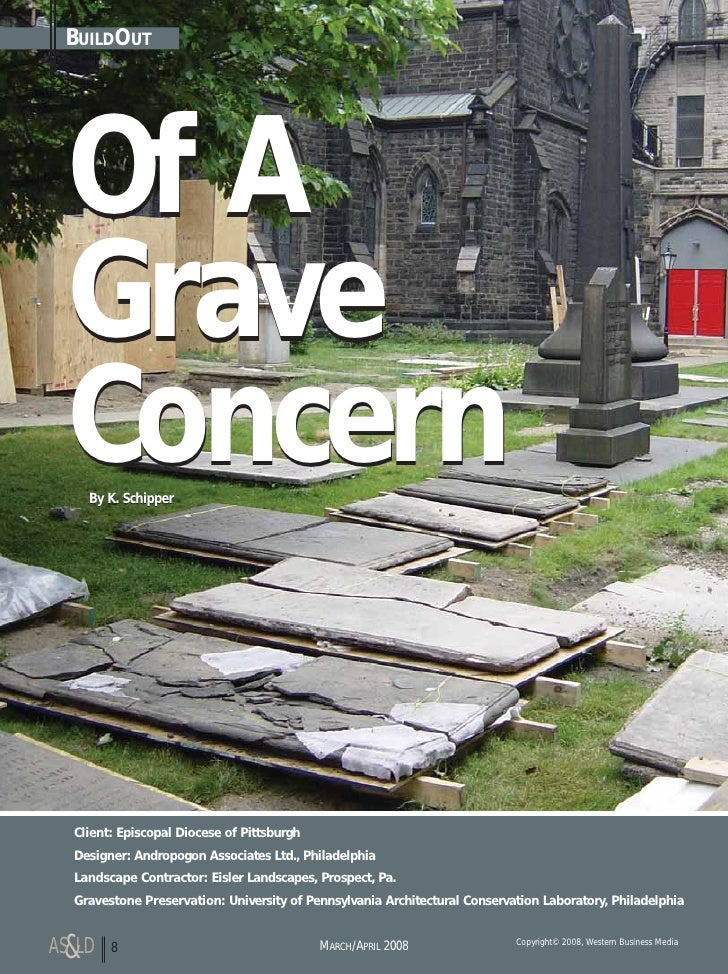 BUILDOUT       Of A   Grave   Concern     By K. Schipper       Client: Episcopal Diocese of Pittsburgh   Designer: Andropo...