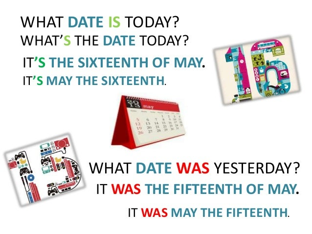 What's today's date