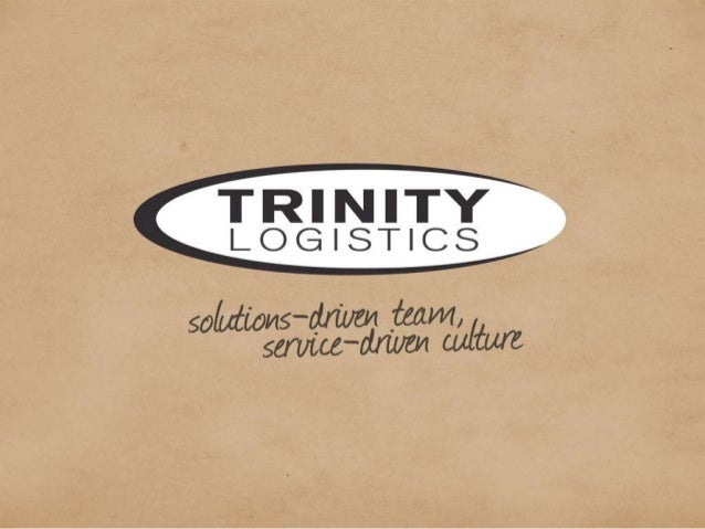 NAFCD Convention: Trinity Logistics Presentation