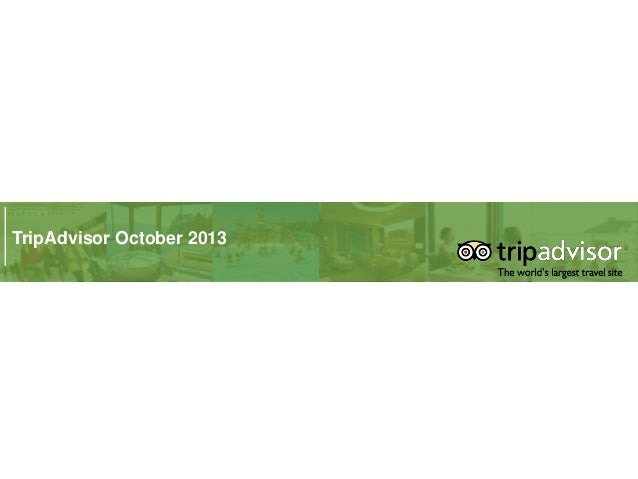 TripAdvisor - Apresentação Seminario Marketing Digital e o Turismo - 29Out13