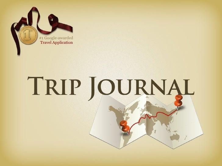 #1 Google-awarded  Travel Application