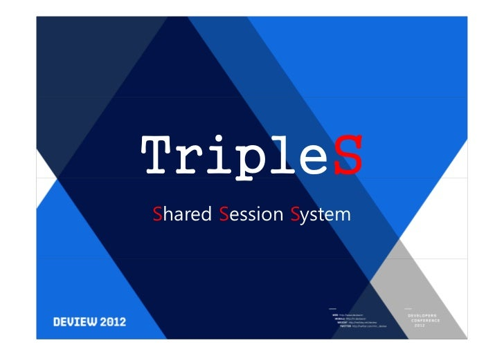 TripleSShared Session System