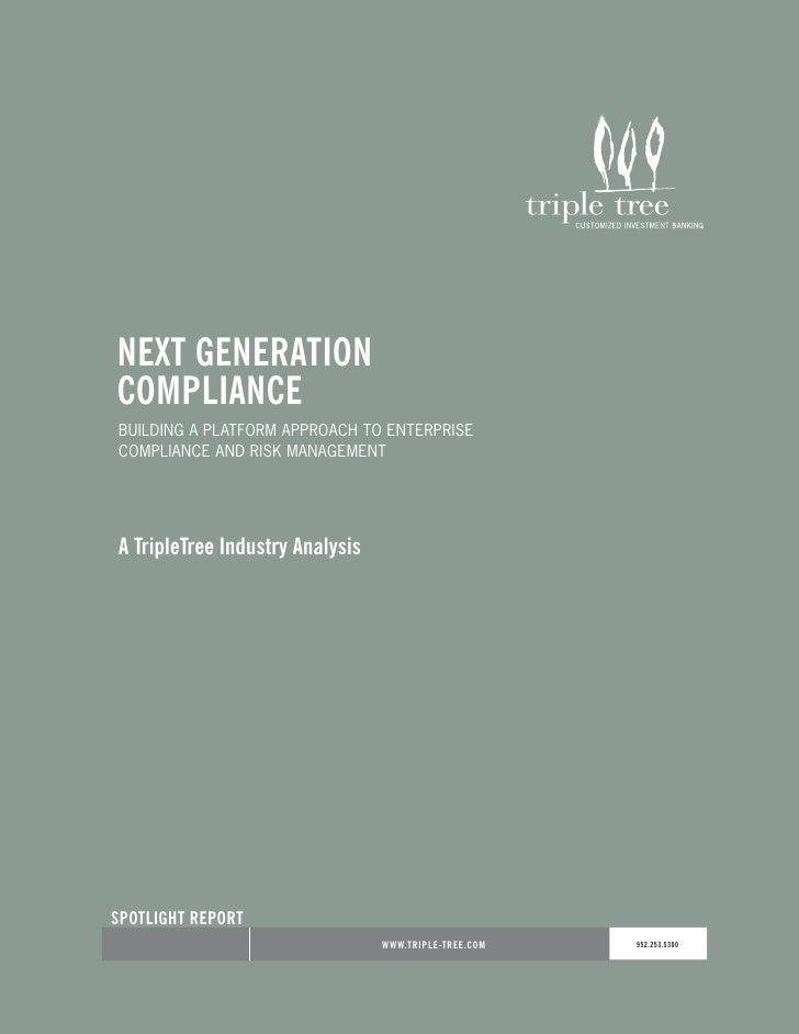 TripleTree  Compliance
