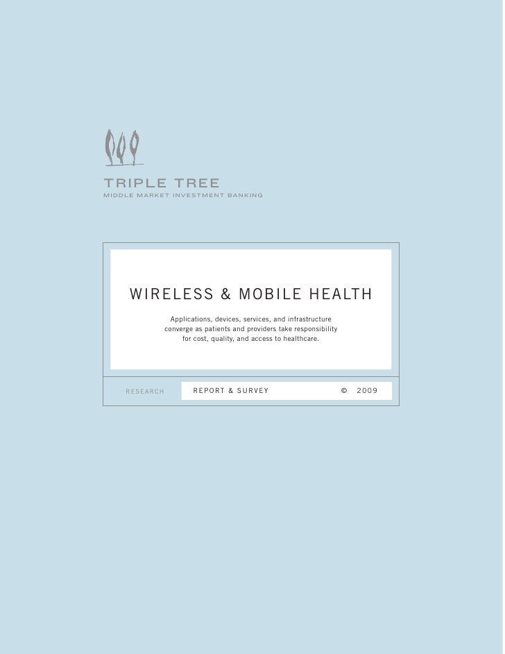TripleTree  Wireless & Mobile Health