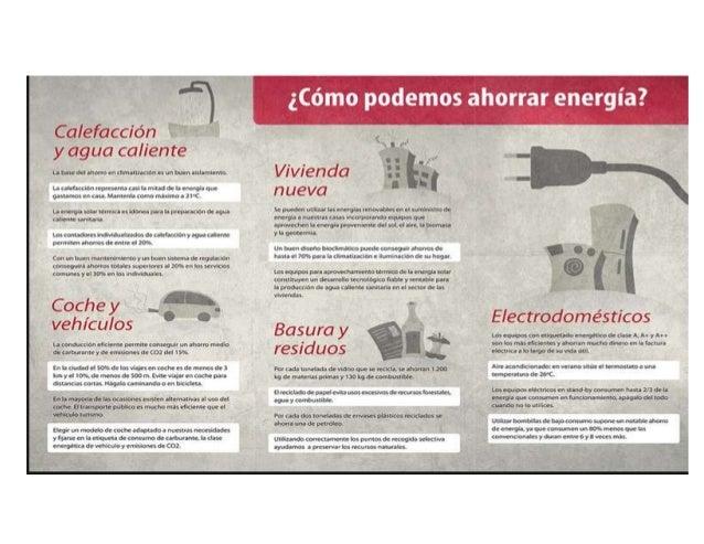 TRÍPTICO AHORRO DE ENERGÍA