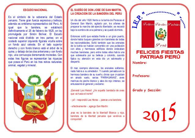 Acrostico Sobre La Bandera Peruana | apexwallpapers.com