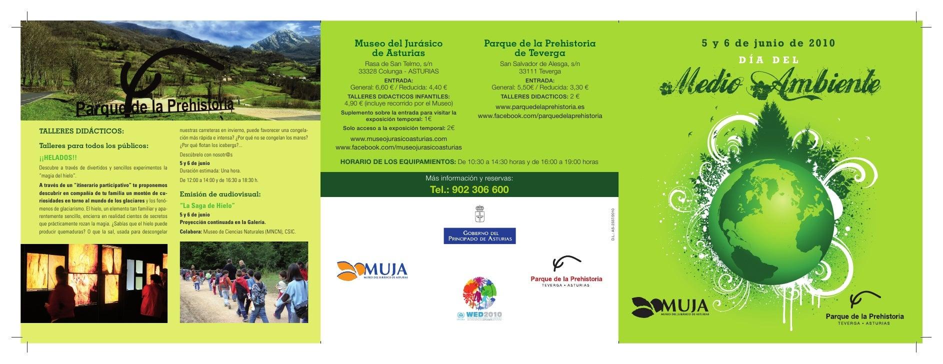 Museo del Jurásico                          Parque de la Prehistoria                                    5 y 6 de junio de ...