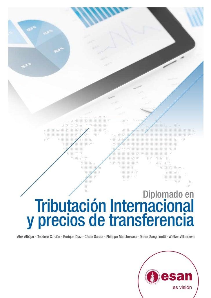 Tríptico Diplomado en Tributación Internacional y Precios de Transferencia