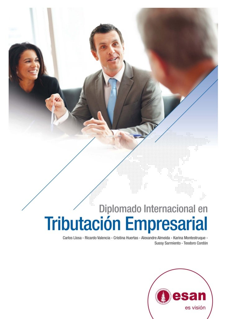 Tríptico Diplomado Internacional en Tributación Empresarial