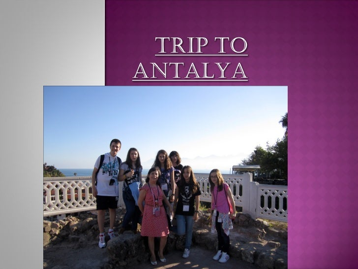  In this diary I wrote all the things that happened  in this nice trip!!   Antalya´s Camp 2012 =)